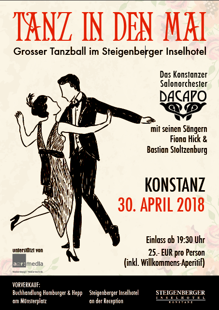 Flyer Tanz in den Mai 2018